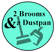 2 Brooms and A Dustpan