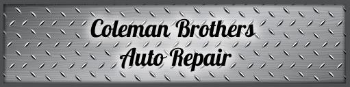 Coleman Brothers Auto Repair