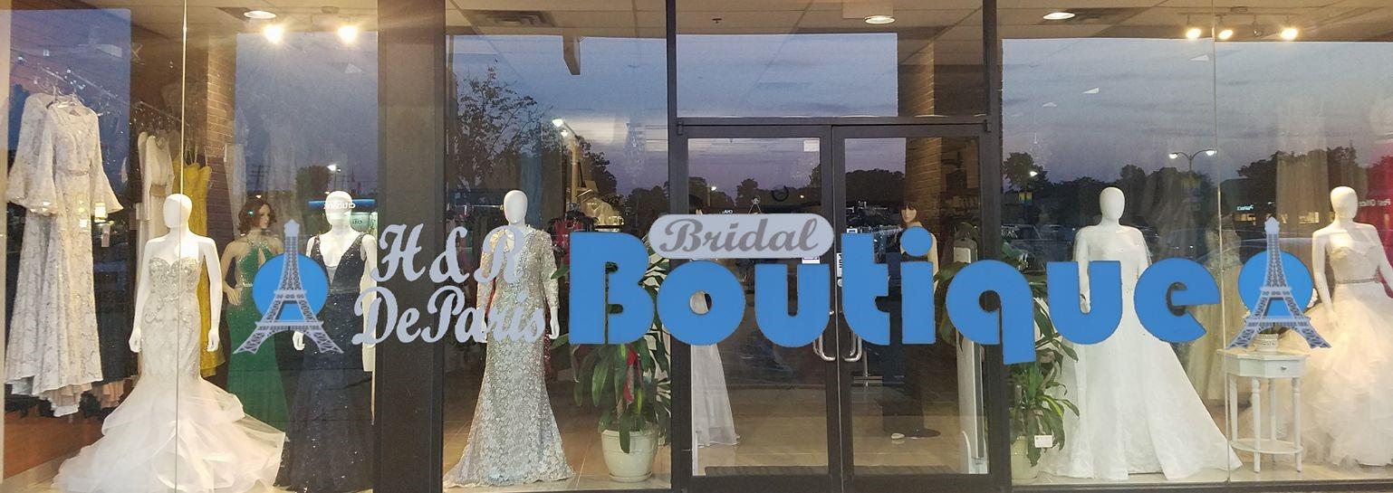 H & R De Paris Boutique Formal and Bridal