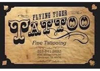 Andy's Flying Tiger Tattoo