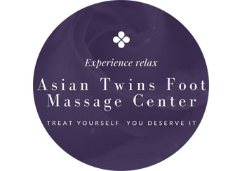 Asian Twins Foot Massage