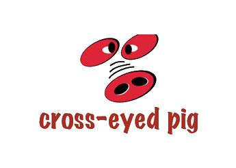 Cross-Eyed Pig