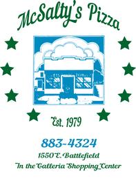 McSaltys Pizza Cafe